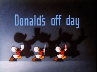 Donald's Day Off