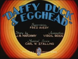Daffy Duck And Egghead