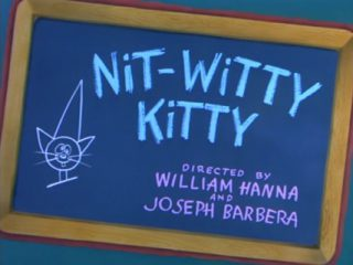 Nit-Witty Kitty