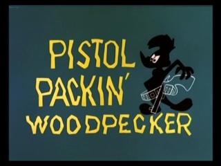 Pistol Packin' Woodpecker
