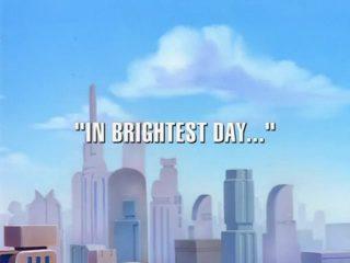 In Brightest Day…